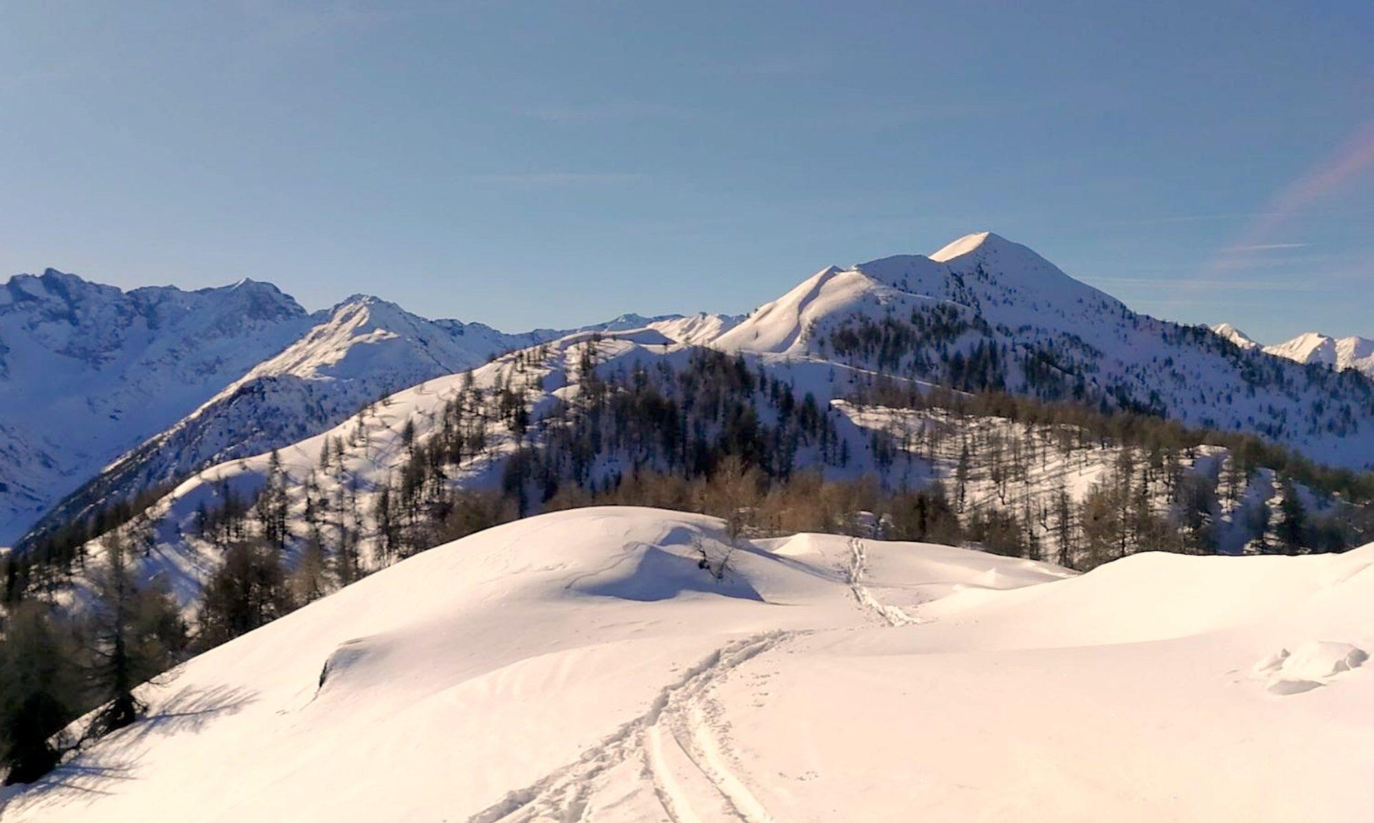 La grande gara di scialpinismo sul Meriggio