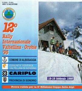 quando il Valtellina Orobie era Rally internazionale